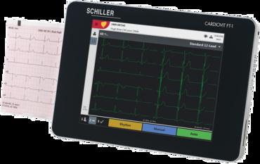 ECG Recorder Schiller Cardiovit Ft1